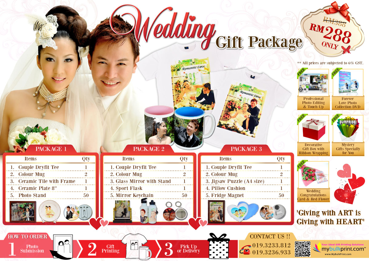 Wedding Gift In Malaysia: Unique & Perfect Wedding Photo Gift Ideas